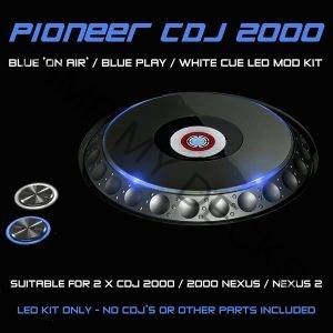 CDJ 2000 LED MOD KIT