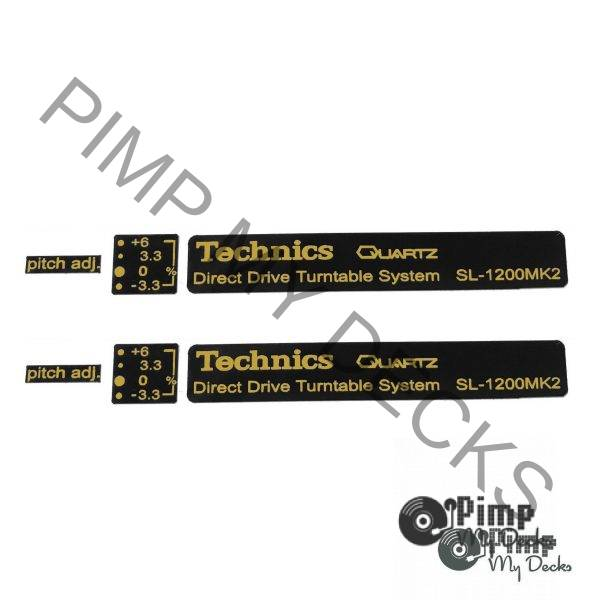 PMD Technics Badge Sets 1200 b&g