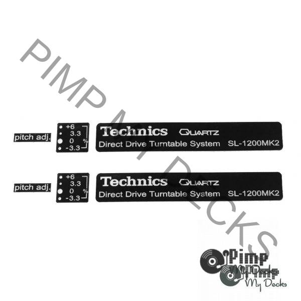 PMD Technics Badge Sets 1200 b&w