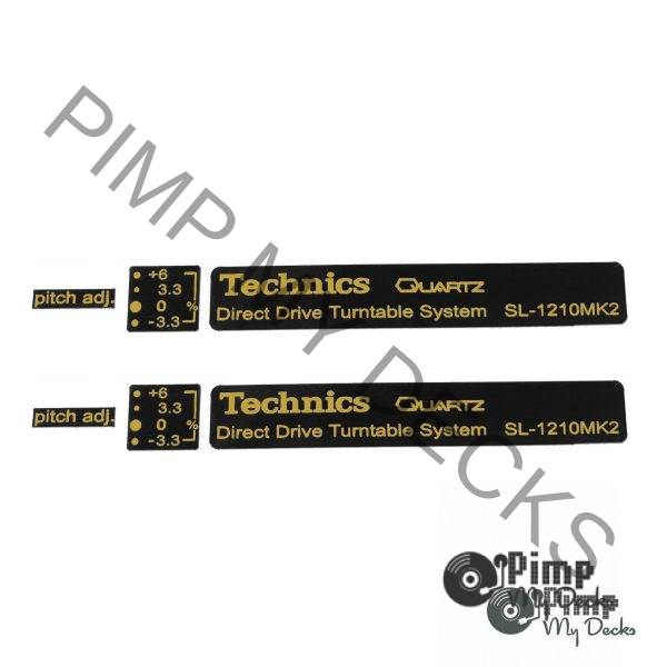 PMD Technics Badge Sets 1210 b&g