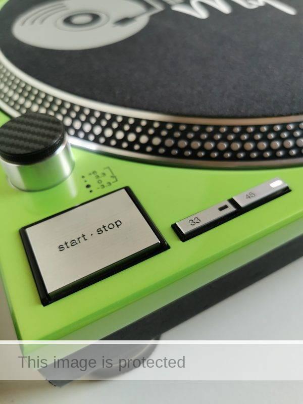 custom technics lambo green 2