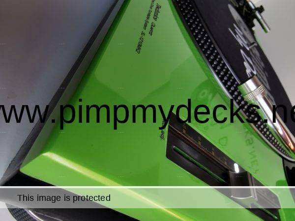 custom technics lambo green 3