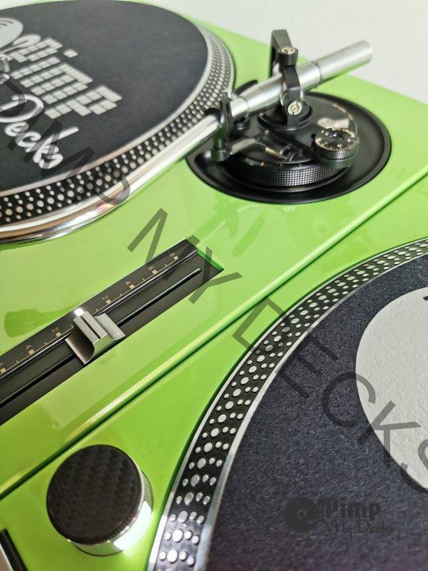 custom technics lambo green 6