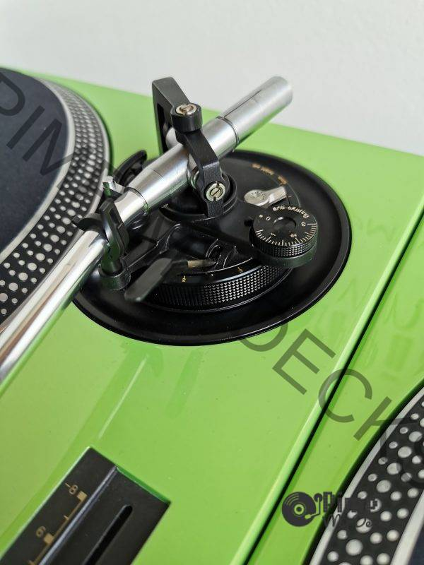 custom technics lambo green 7