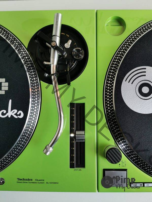 custom technics lambo green 8