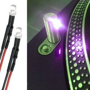 technics purple led target light