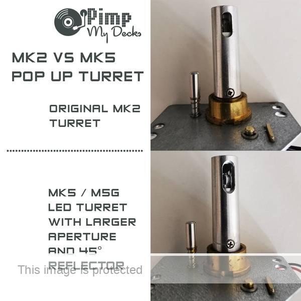 technics mk2 vs mk5