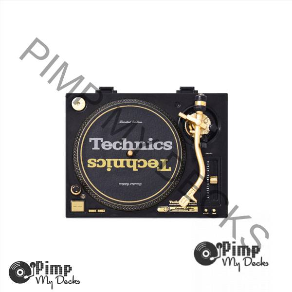 Technics-Miniature-Collection-sl-1200-gld